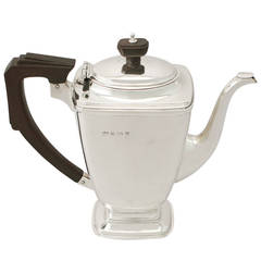 Antique Sterling Silver Coffee Pot
