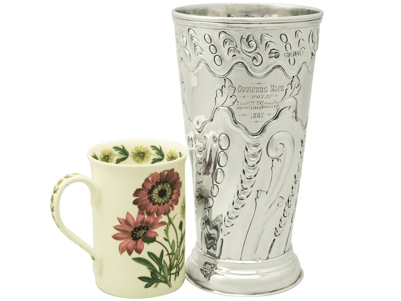 sterling silver vase antique victorian for sale at 1stdibs