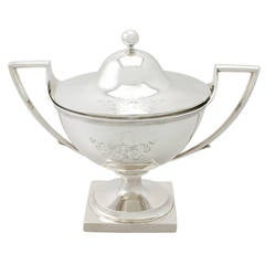 Sterling Silver Tureen, Antique George III
