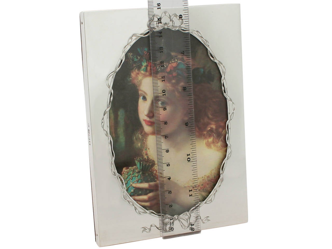 Sterling Silver Photograph Frame, Antique Victorian For Sale 3