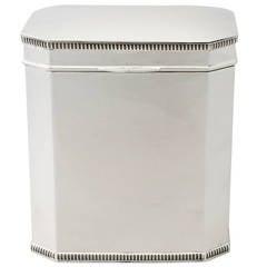 Sterling Silver Box – Antique George V