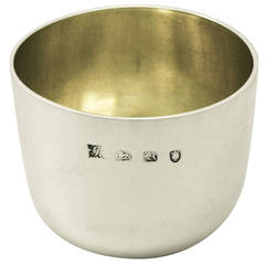 Sterling Silver Tumbler Cup, Antique George II