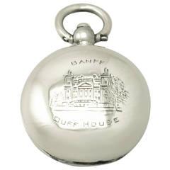 Sterling Silver Sovereign Case, Antique George V