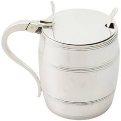 1965 Sterling Silver Mustard Pot