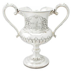 Sterling Silver Presentation Cup - Antique Edwardian