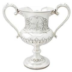 Sterling Silver Presentation Cup - Antique Edwardian