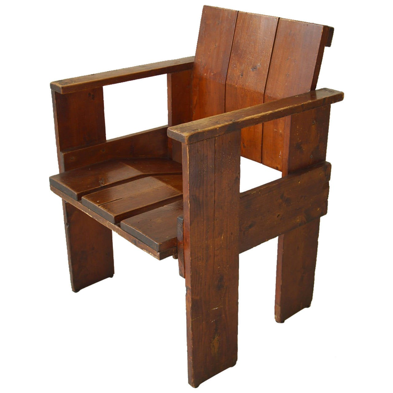 Gerrit rietveld chair for sale - Albatros Crate Chair By Gerrit Rietveld 1