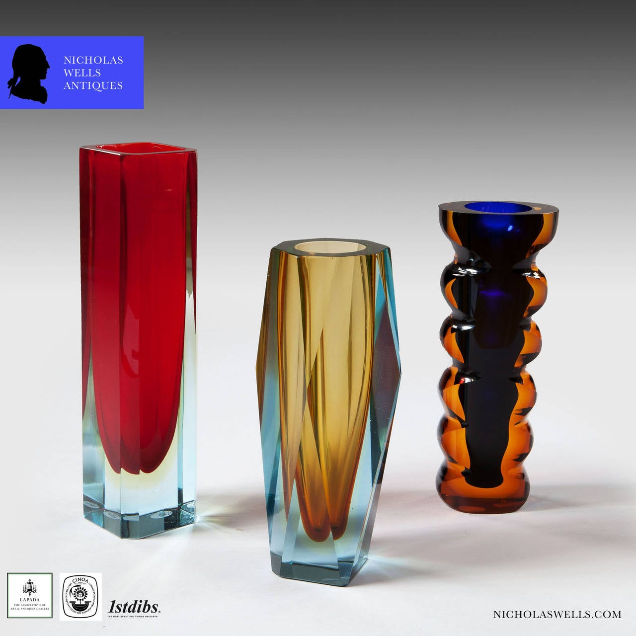 Collection of czechoslovakian glass vases for sale at 1stdibs collection of czechoslovakian glass vases in excellent condition for sale in london by appointment only reviewsmspy