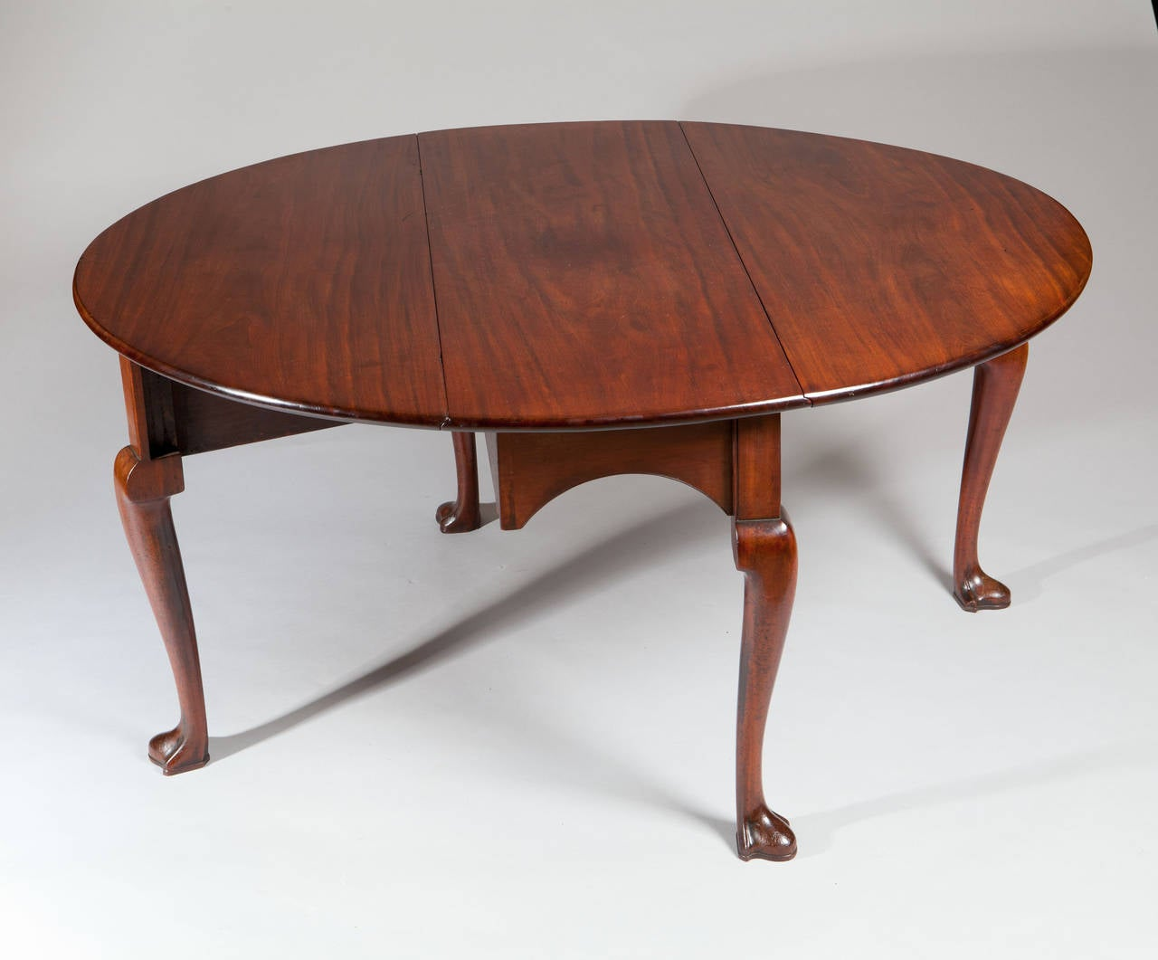 George II Mahogany GateLeg DropLeaf Dining Table For Sale At Stdibs - Antique gateleg tables