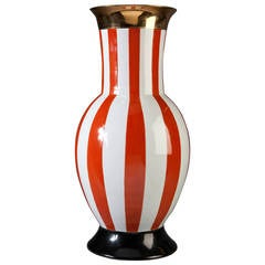 1950s Style Vase in the Italian Carnival Style, Frederico de Luca