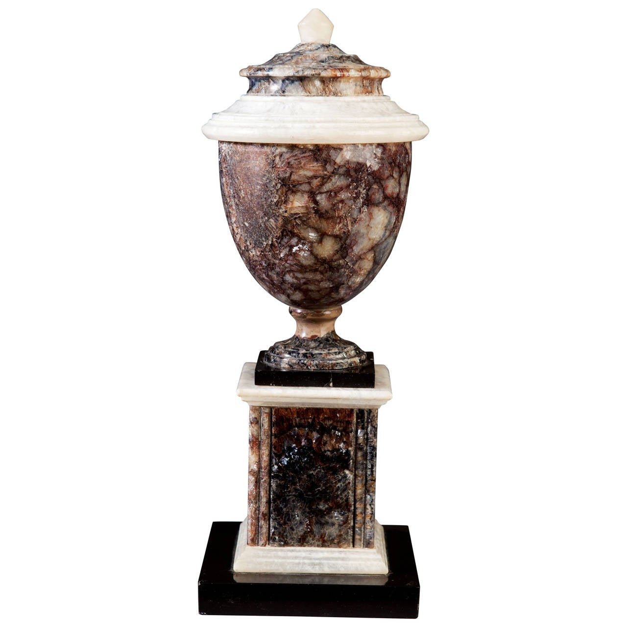 George iii large scale dark blue john urn for sale at 1stdibs - Large decorative vases and urns ...