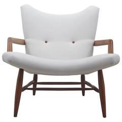 Rare Swedish Easy Chair by Svante Skogh, 1950s