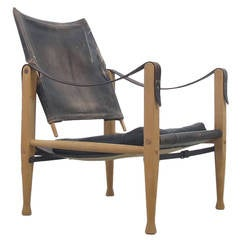 Kaare Klint Safari Chair by Rud. Rasmussen