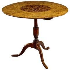 "Burr Alder Tripod Table or ""Alrotsbord"""