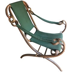 Thonet Bentwood Folding Chair Klapp Fauteuil, circa 1890