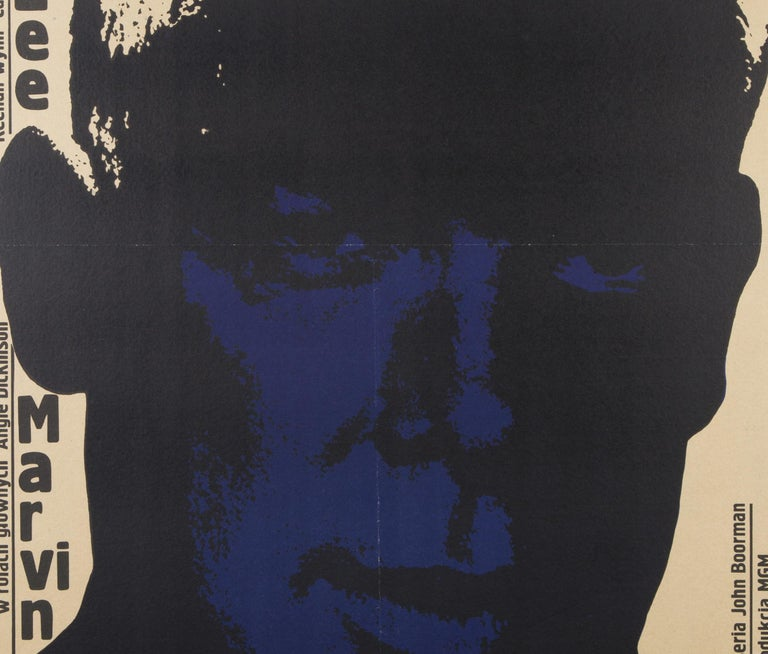 Point Blank Original Polish Film Poster, Bronislaw Zelek, 1970 In Excellent Condition For Sale In Bath, Somerset