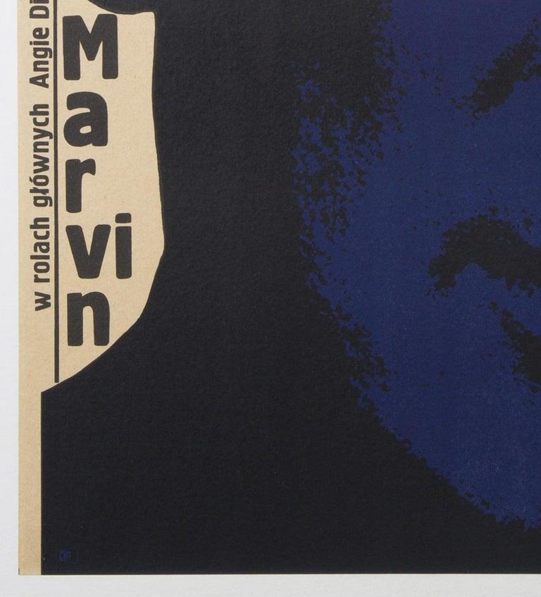 20th Century Point Blank Original Polish Film Poster, Bronislaw Zelek, 1970 For Sale