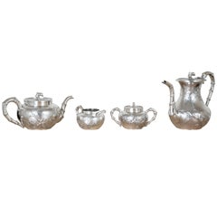 Chinese Silver Tea and Coffee Service