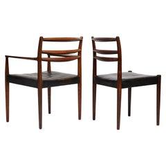 Set of 8 1960s Danish Chairs