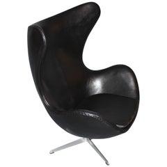 The Egg, Model 3316, Original Upholstery by Arne Jacobsen & Fritz Hansen, 1963