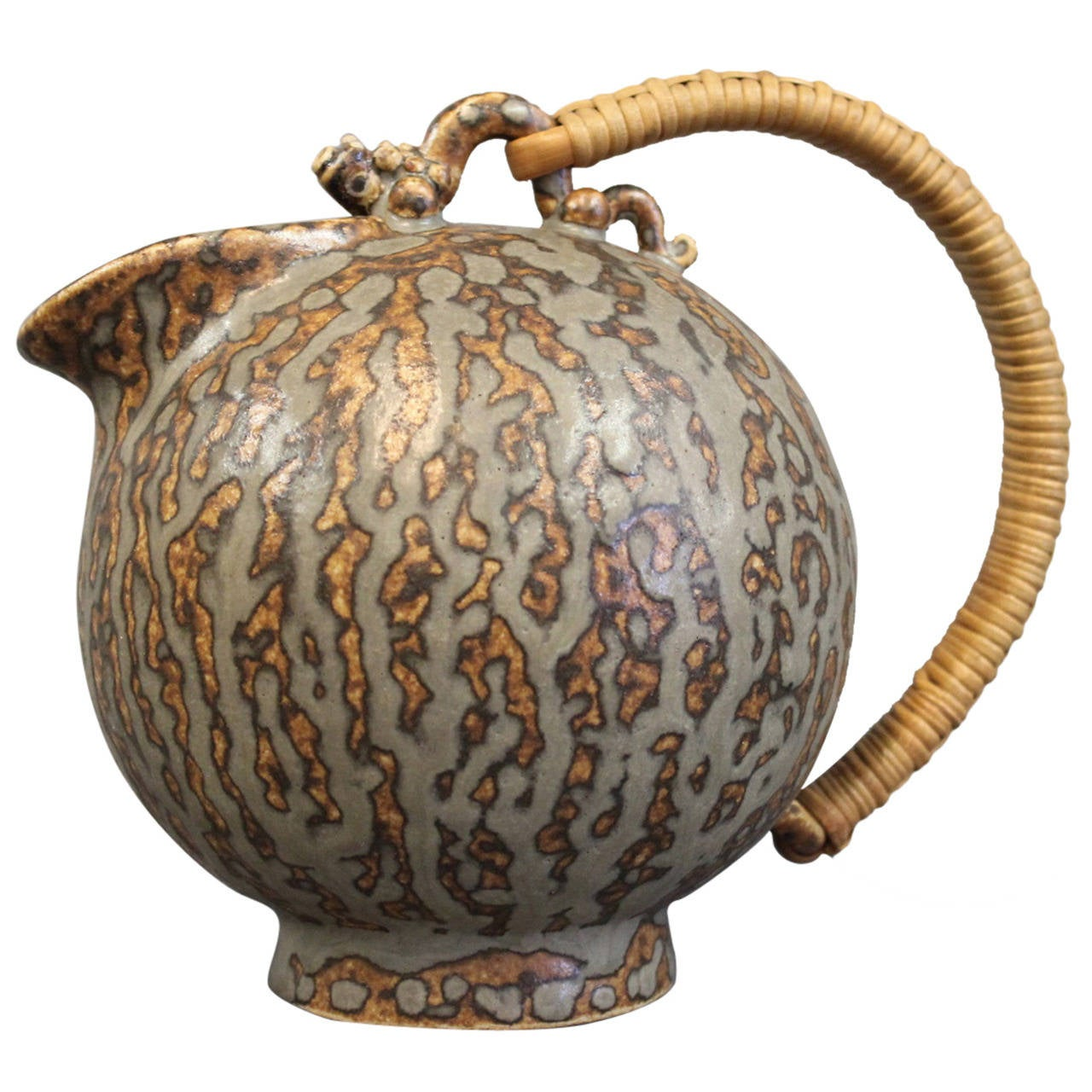 Arne Bang Jug in Stoneware Number 151, circa 1940-1960