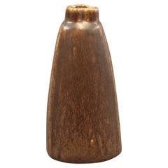 """Saxbo Stoneware Vase by Eva Stæhr Nielsen """"no. 179,"""" c. 1940"""