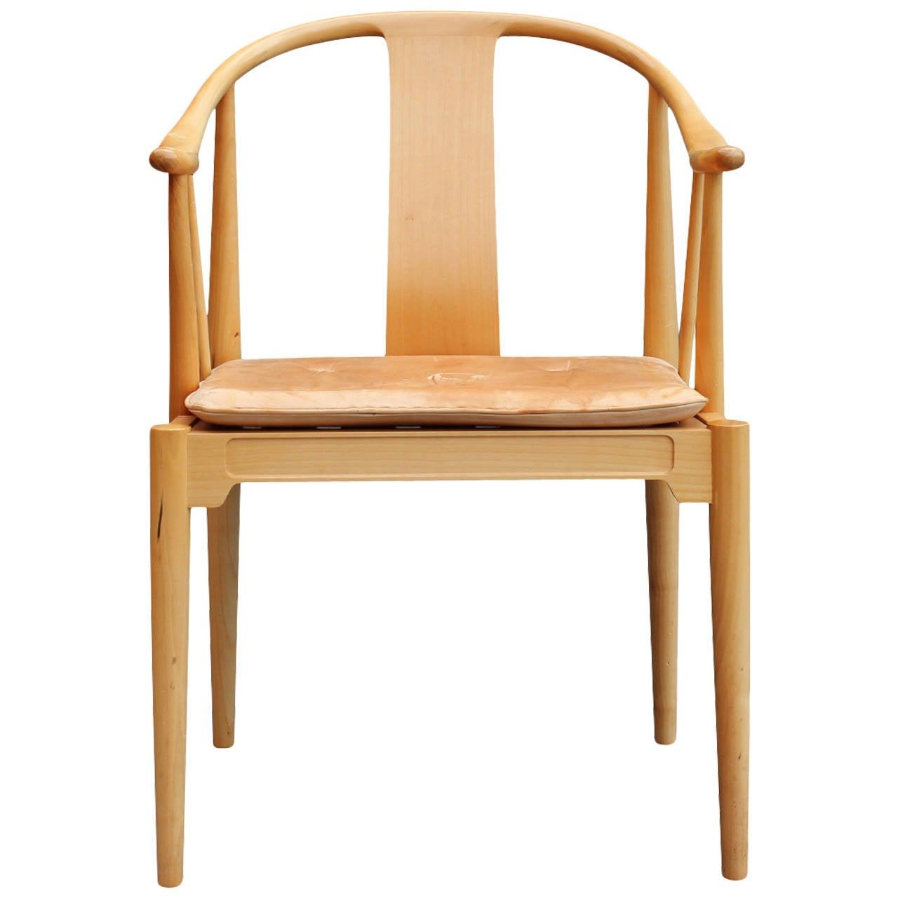 The China Chair, model 4283, by Hans J. Wegner and Fritz Hansen, 1989