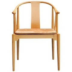 The China Chair, Model 4283 by Hans J. Wegner and Fritz Hansen, 1989