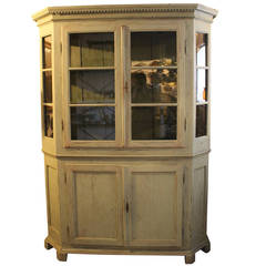 Large Frisian Display Cabinet from the Louis Seize Period, 1760-1790