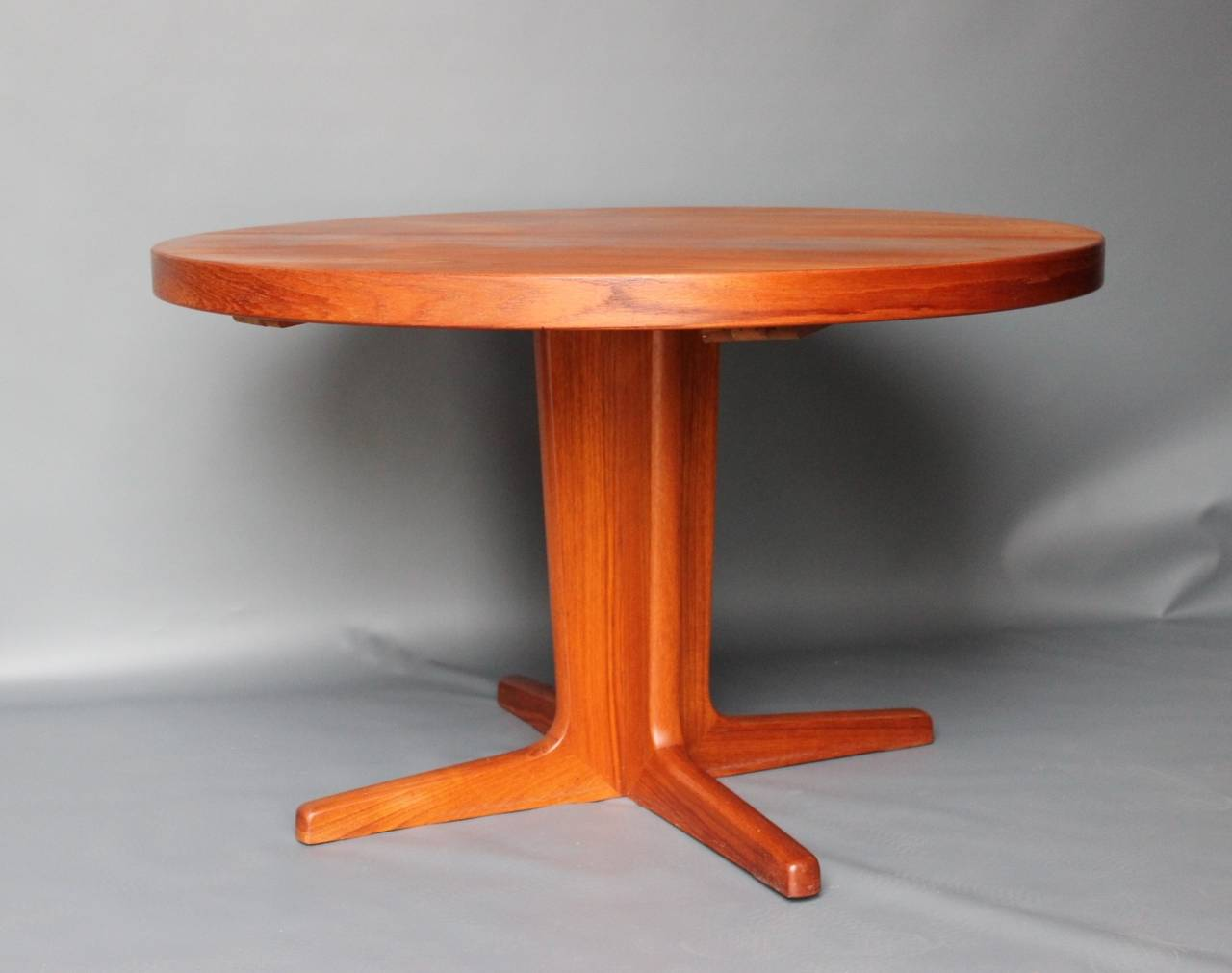 Scandinavian Modern Dining Table In Teak Manufactured By Skovby 1960s For