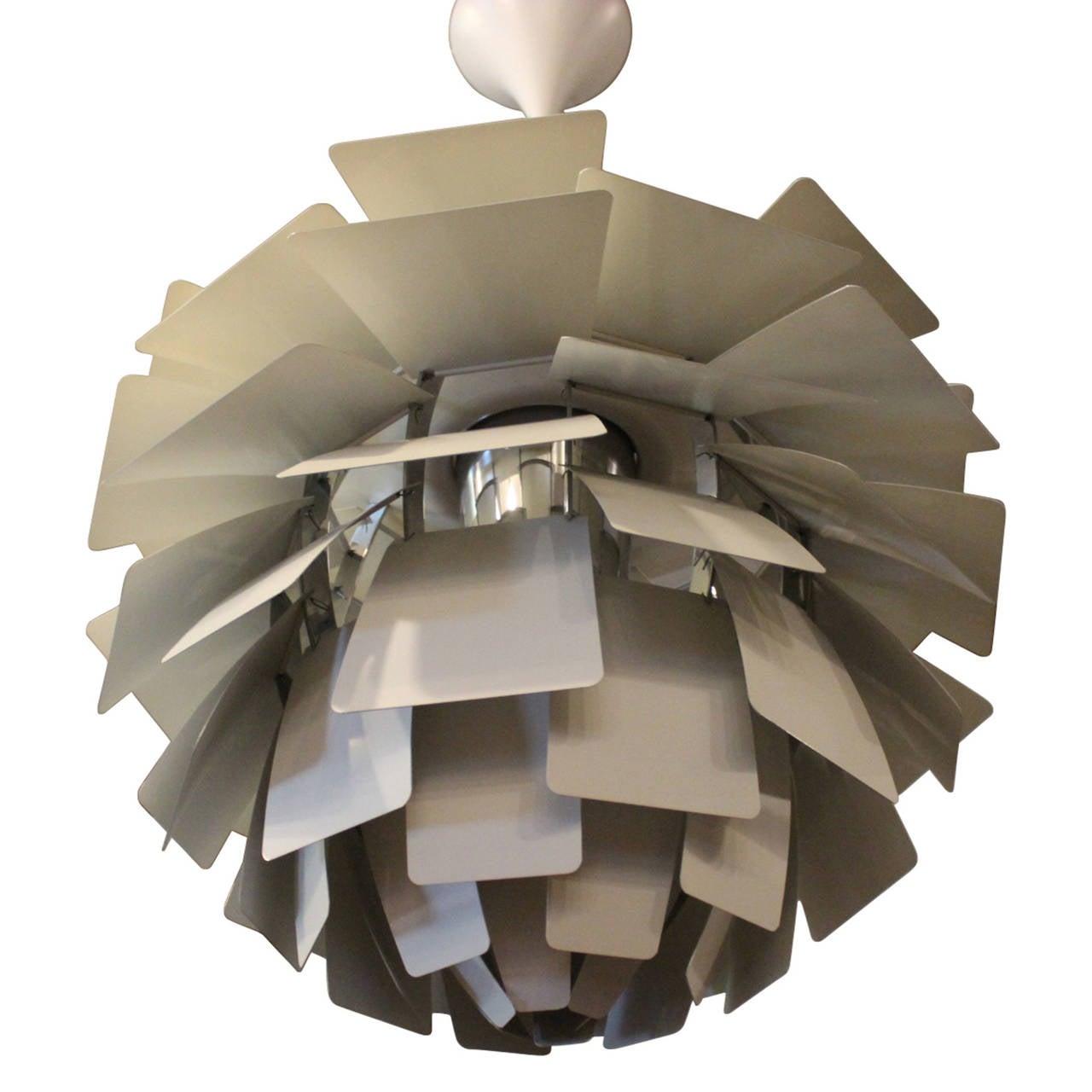 Scandinavian Modern Artichoke Pendant Designed by Poul Henningsen For Sale