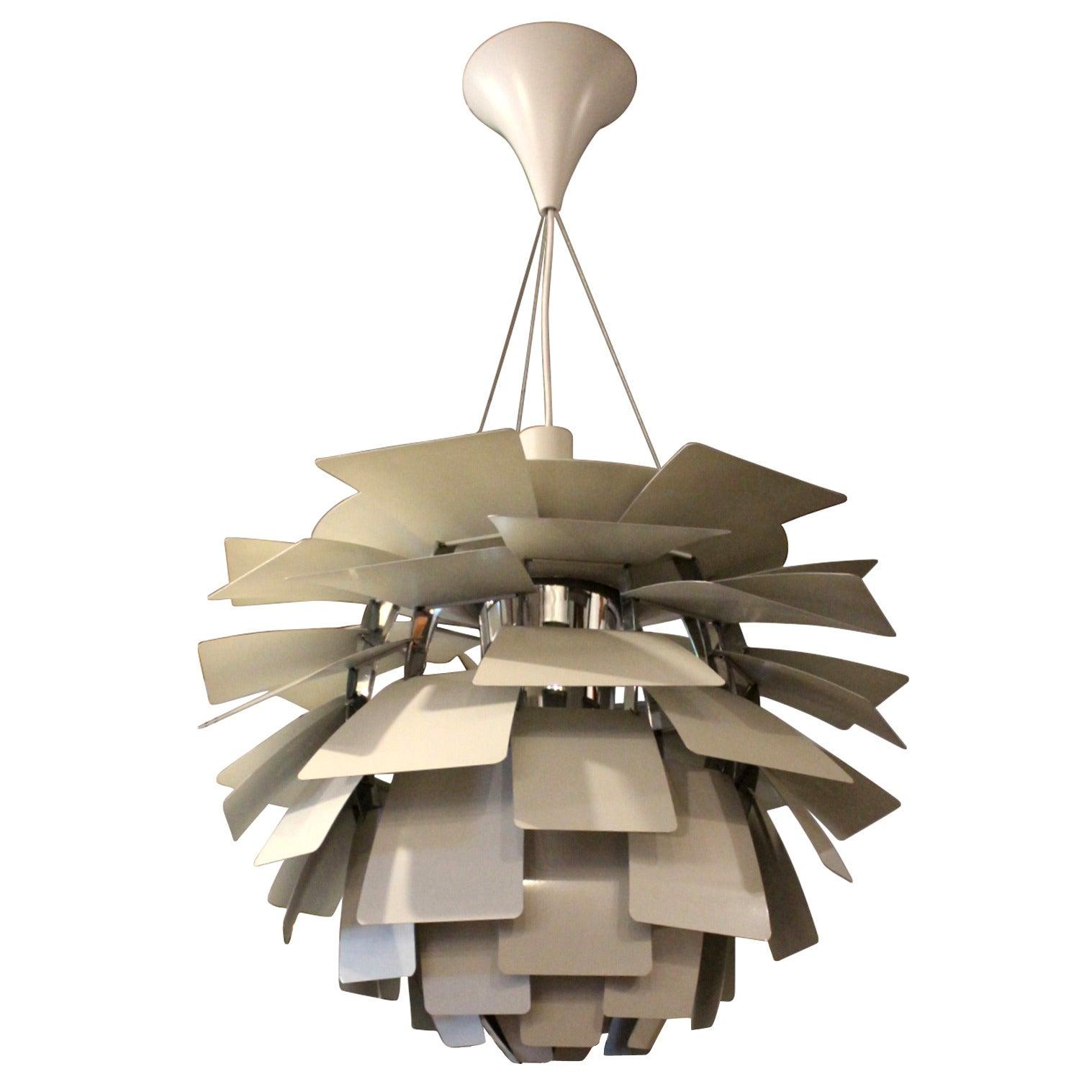 Artichoke Pendant Designed by Poul Henningsen