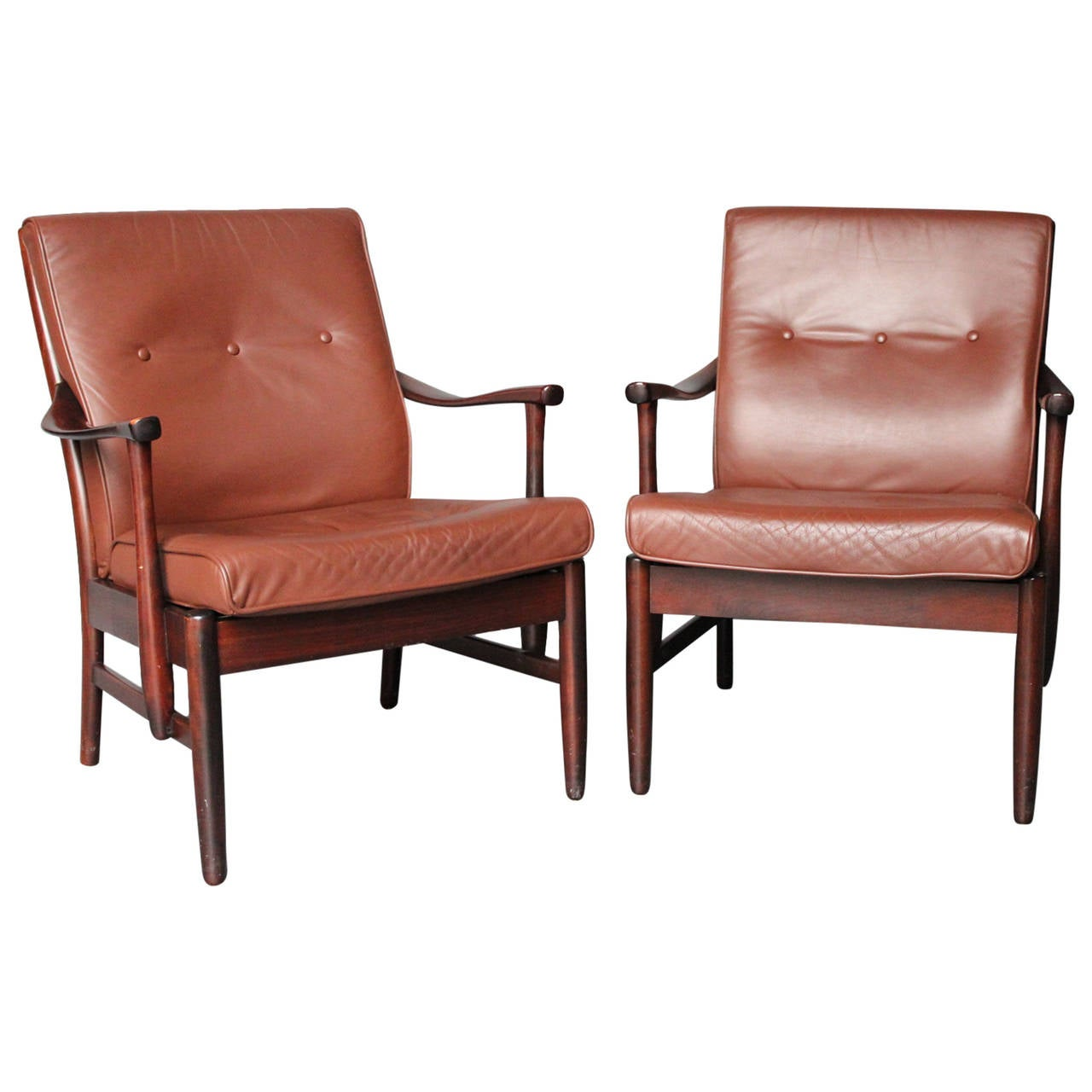 A pair of Armchairs by a Danish Cabinetmaker, c. 1960