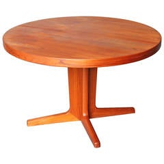 Dining Table in Teak Manufactured by Skovby, 1960s