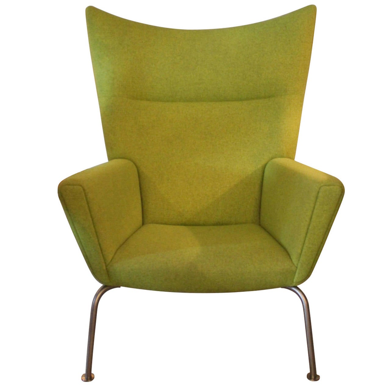 Hans j wegner chair wingchair model ch445 design 1960 for 1960s furniture designers