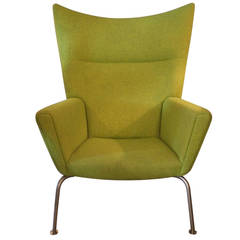 "Hans J. Wegner Chair ""Wingchair"" Model CH445, Design 1960"