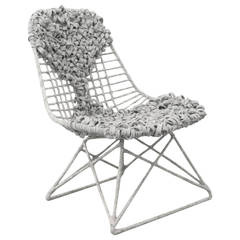 Eames Wire Chair by Tanya Aguiñiga