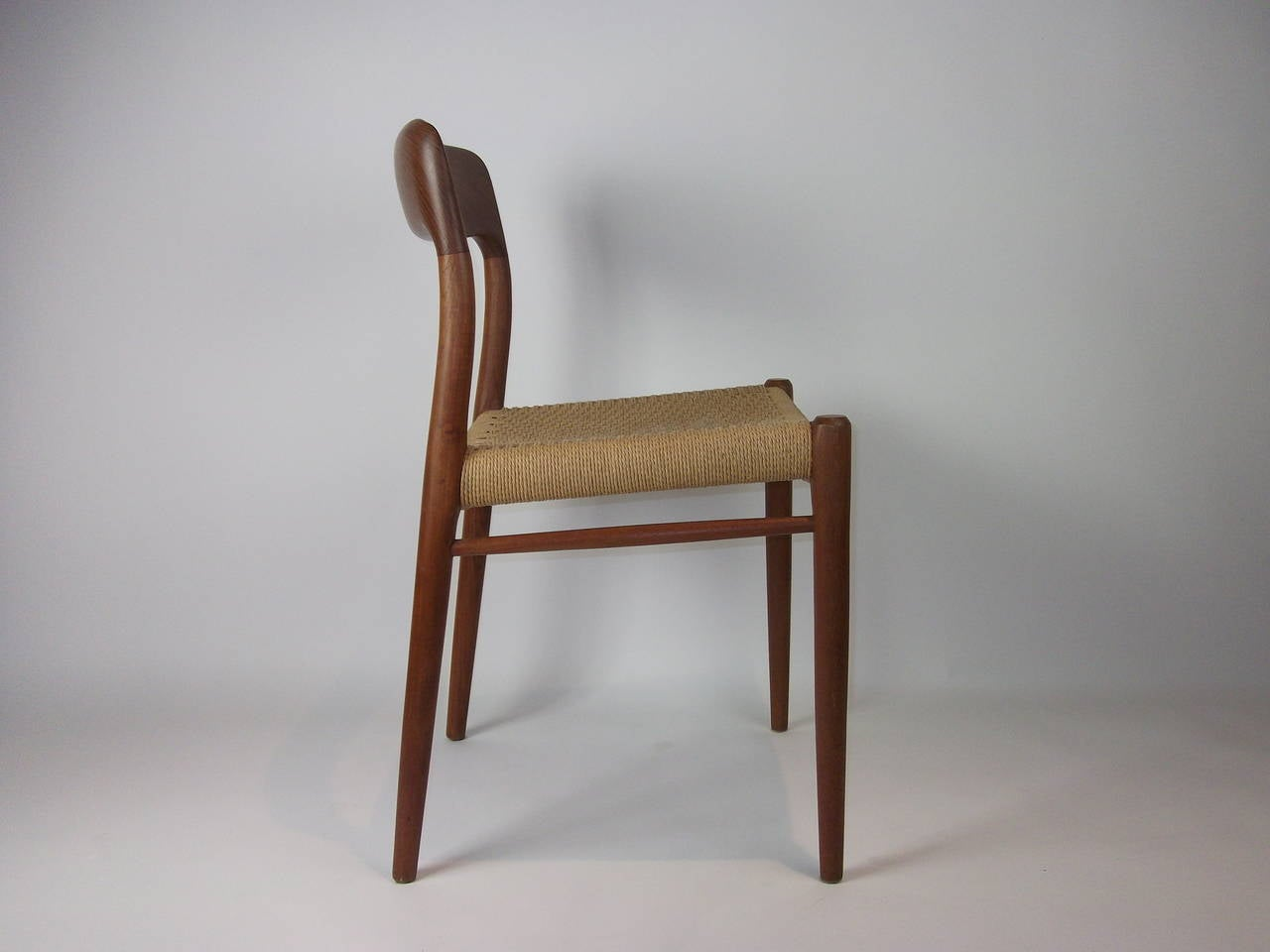 Vintage Danish Teak J L Moller Chair Model 75 At 1stdibs