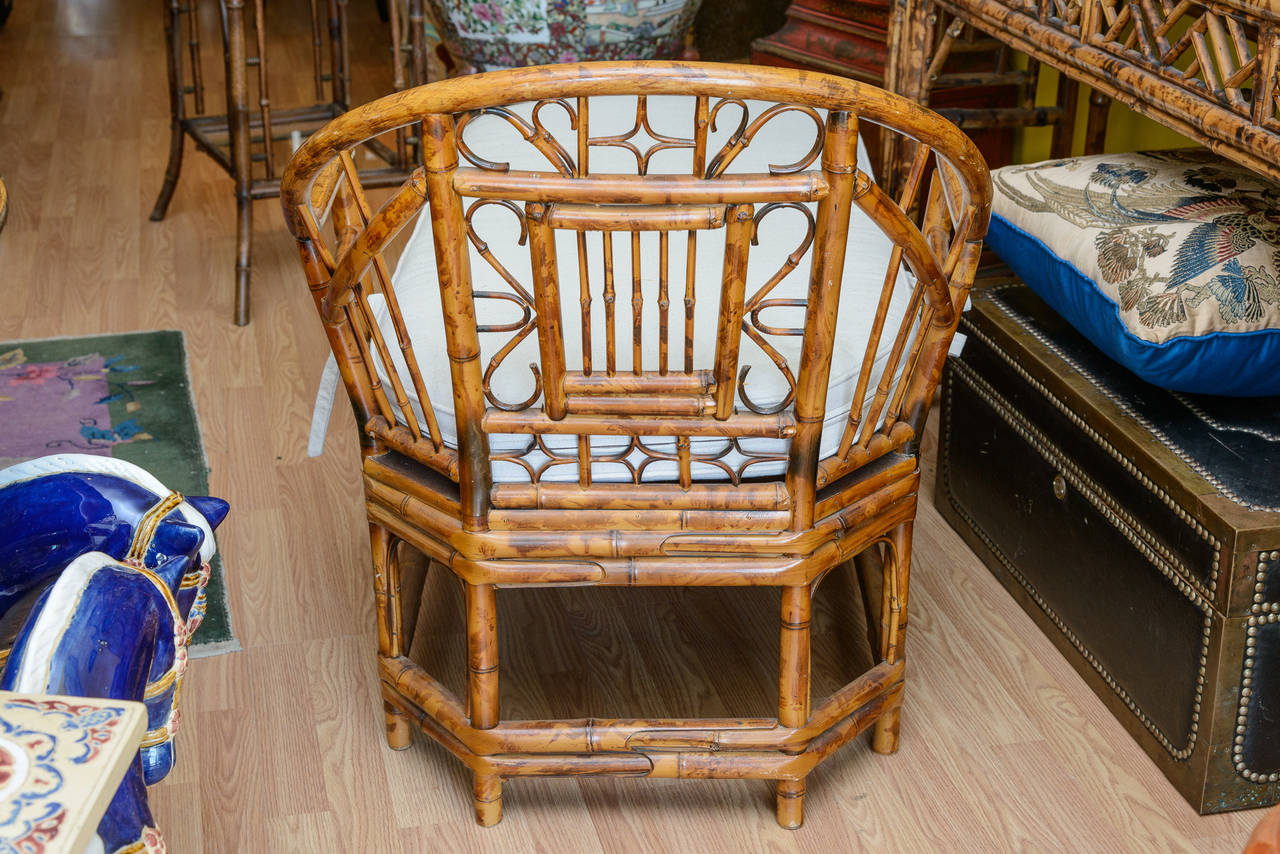 Bamboo Chaise Longue In Good Condition For Sale In West Palm Beach, FL