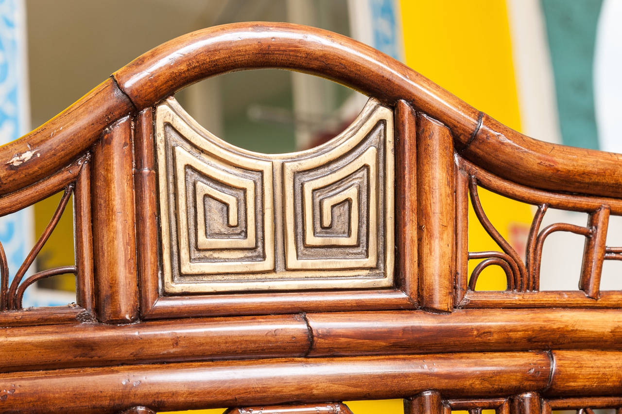 """Brighton"" Bamboo Armchair or Desk Chair 5"