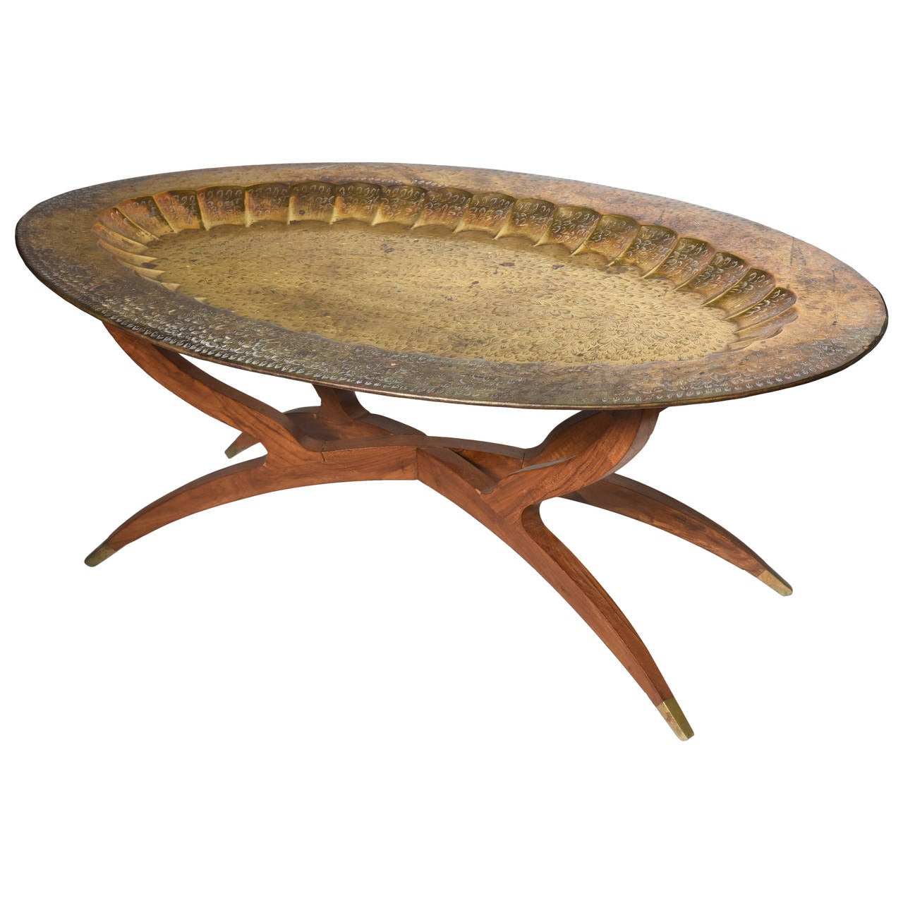 Moroccan Cocktail Tray Table At 1stdibs
