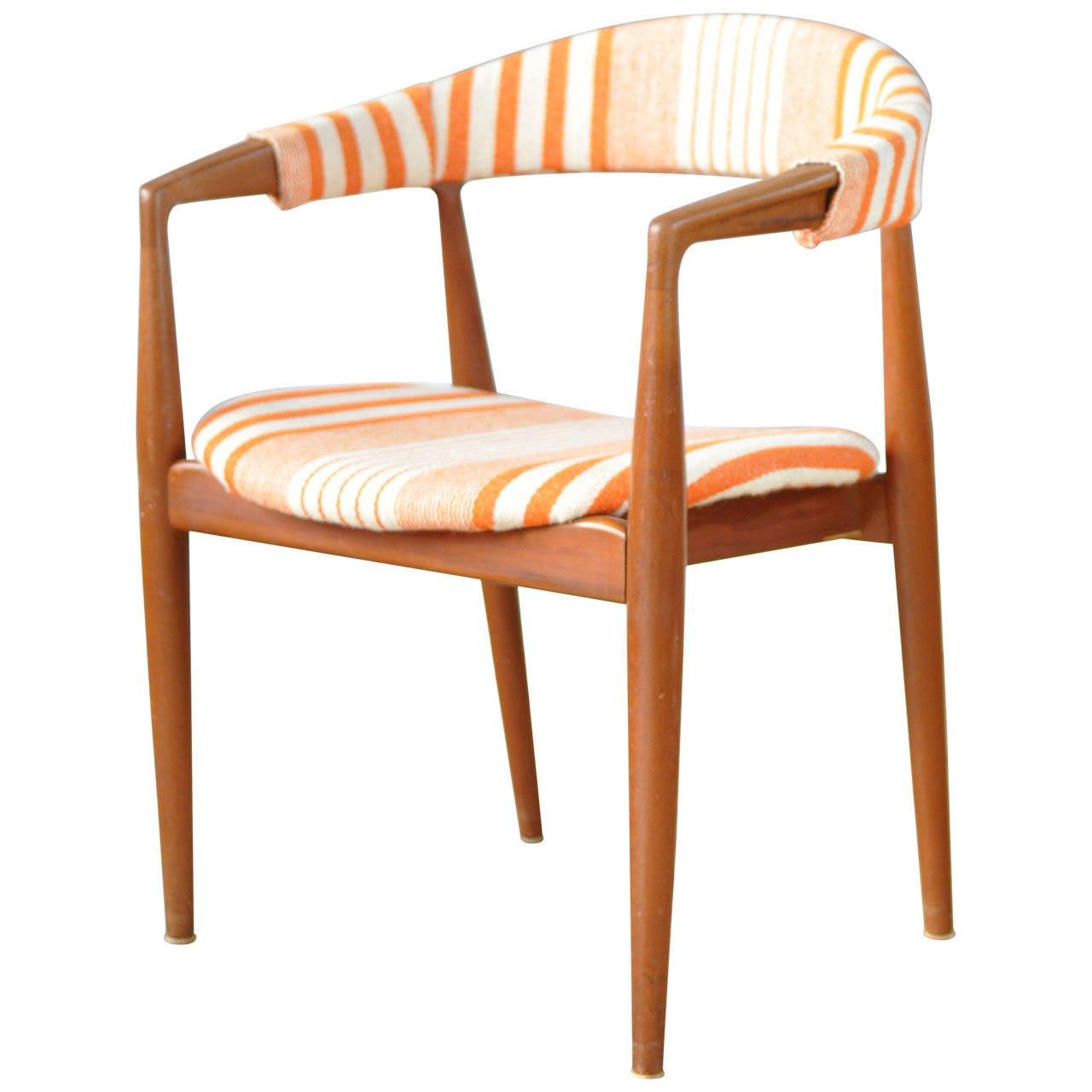 Danish occasional chair by kai kristiansen at 1stdibs - Kai kristiansen chair ...