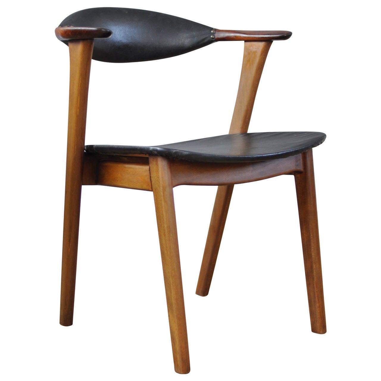 Erik Kirkegaard Danish Modern Occasional Chair at 1stdibs