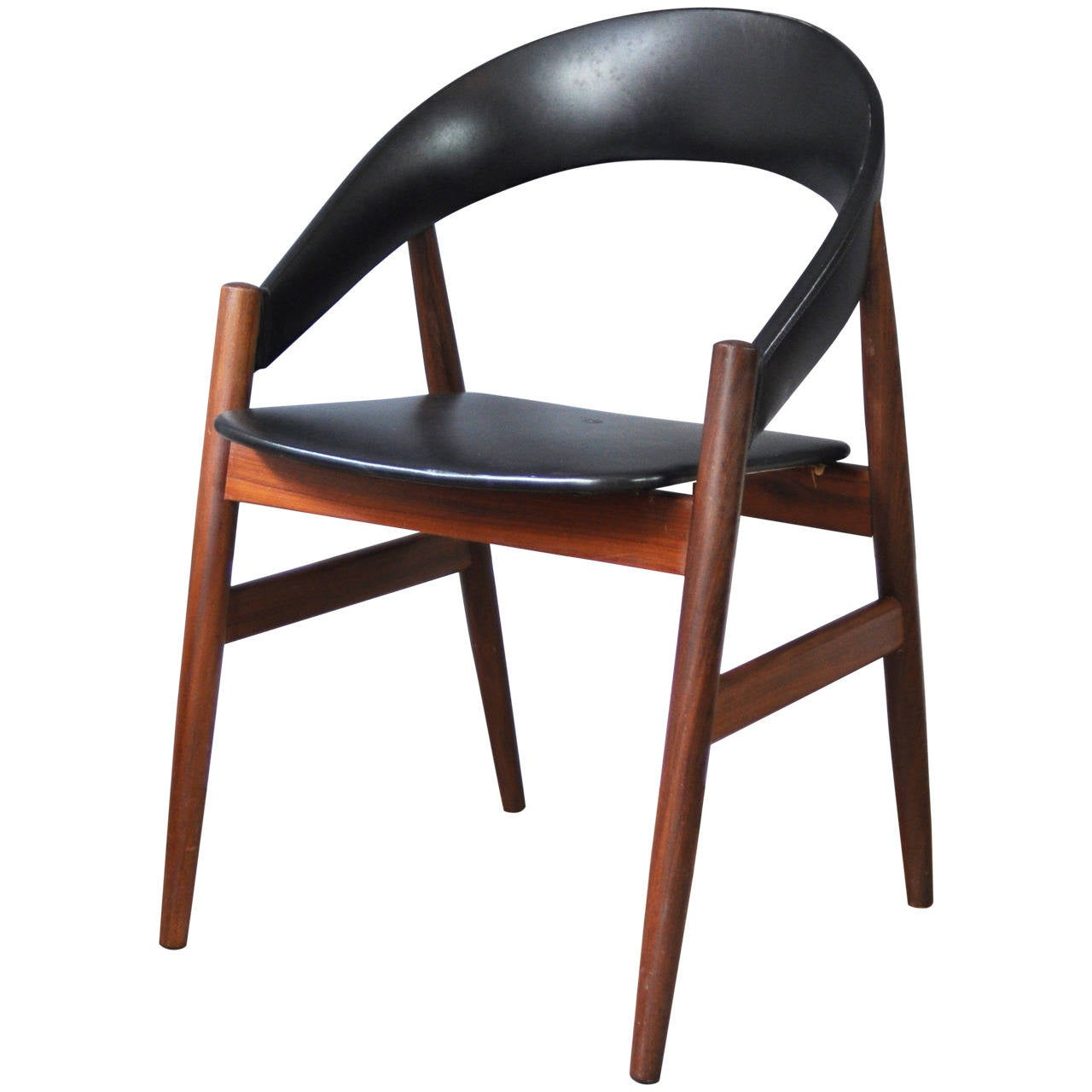 1950s danish occasional chair in the style of arne hovman for 1950s chair styles