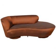 Vladimir Kagan for Directional Cloud Petite Sofa