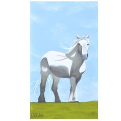 Knight of Dreams White Horse