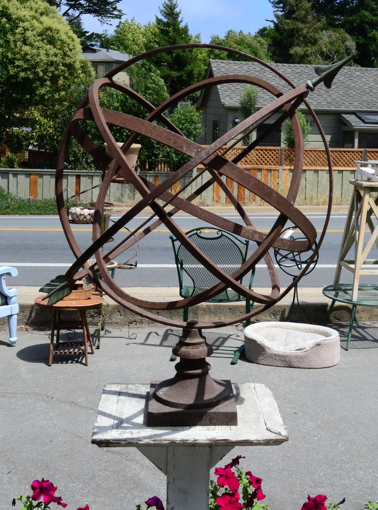 Large Armillary Sphere Garden Designs