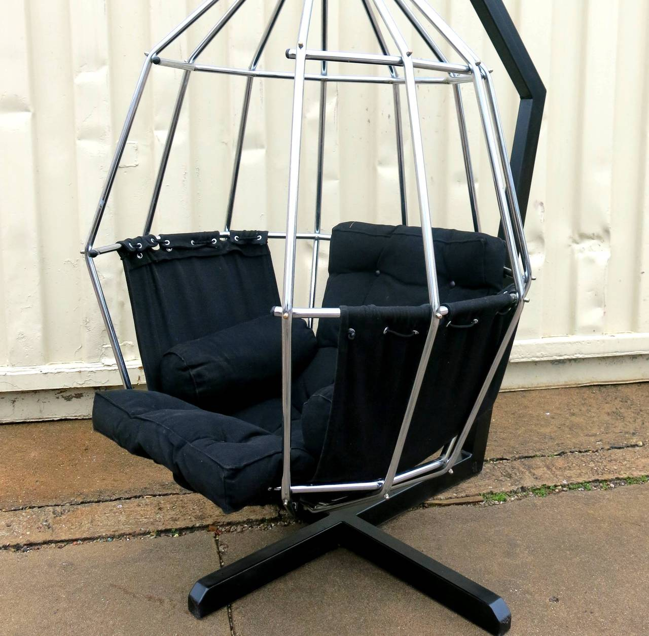 Ib Arberg Hanging Birdcage Or Parrot Chair, Circa 1970 At 1stdibs