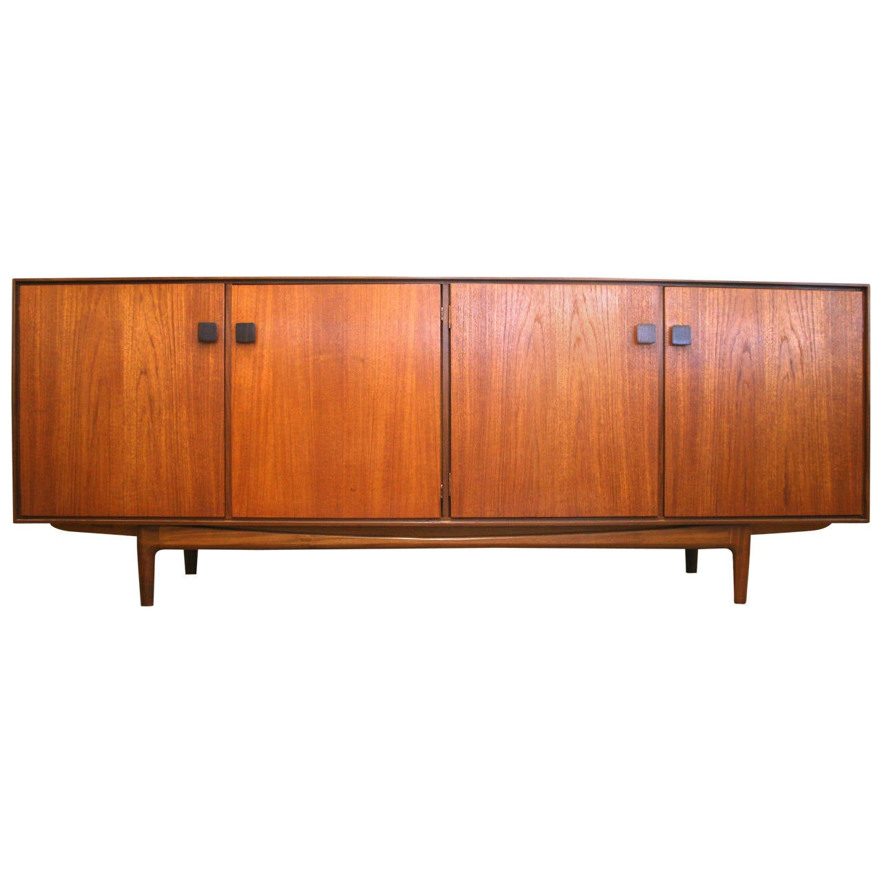 Mid Century Modern Long Credenza In The Style Of Ib Kofod