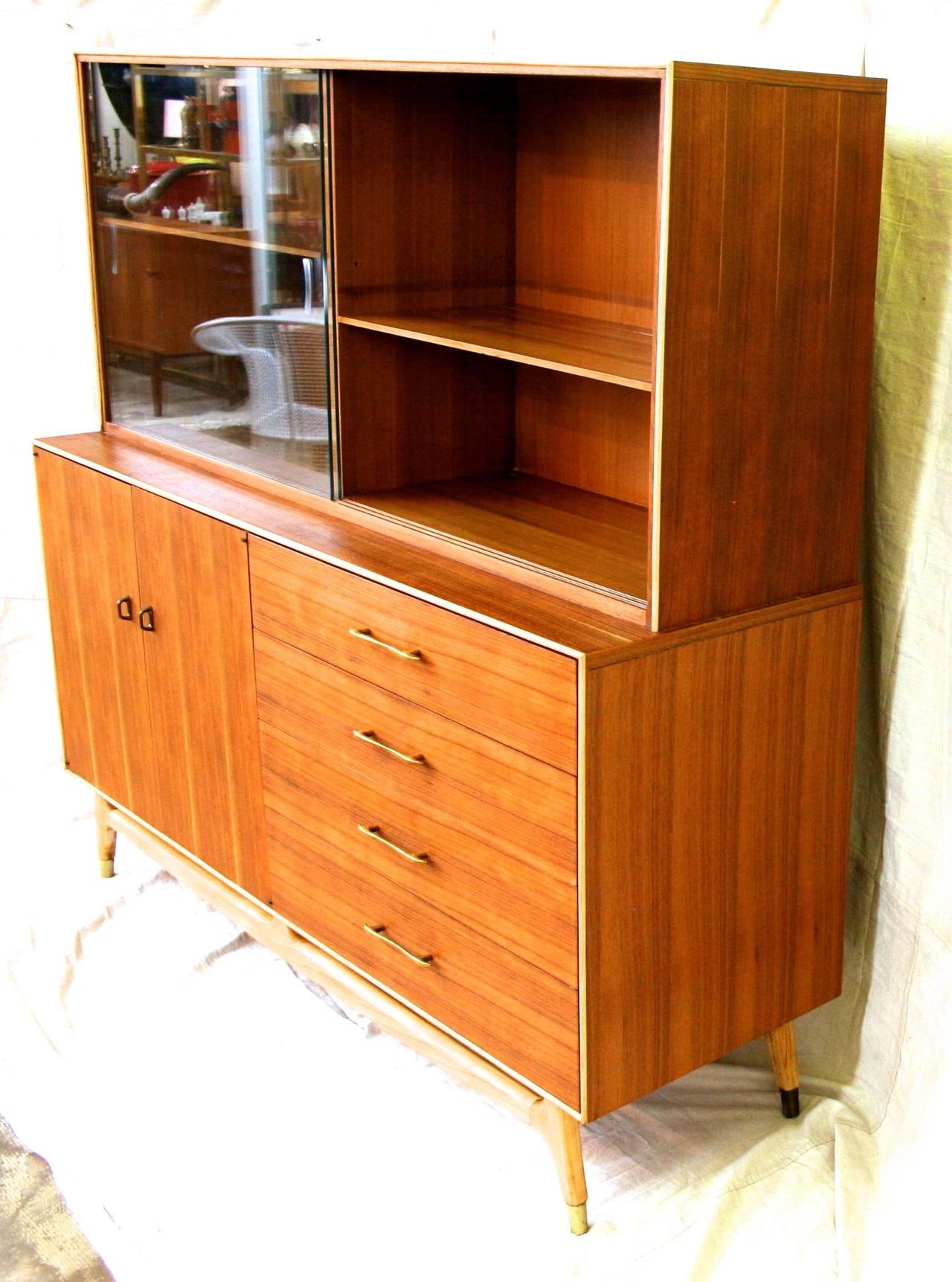 hutch century teak danish f mafia corner modern cabinet mid dsc bar